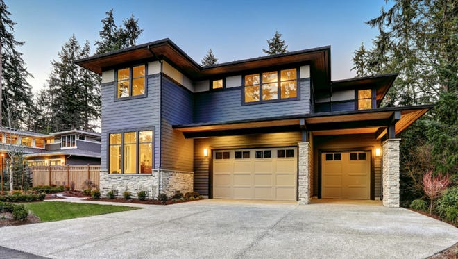 Homes like this that utilize clean lines, lots of windows and natural materials will always feel stylish.