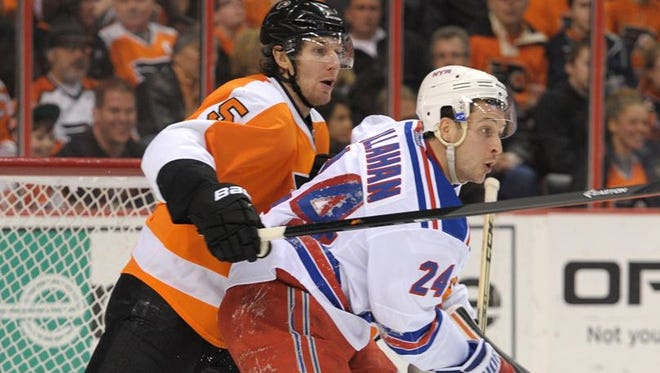 Ryan Callahan has been wearing a New York Rangers uniform since 2006-07 and is in his third season as their captain.