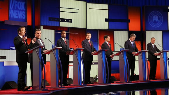 GOP presidential candidates debate in Des Moines on