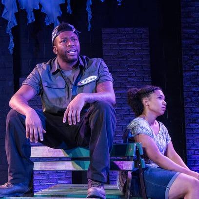 "Aziza Macklin plays Ida in the Know Theatre of Cincinnati's production of Christina Anderson's ""BlackTop Sky."""