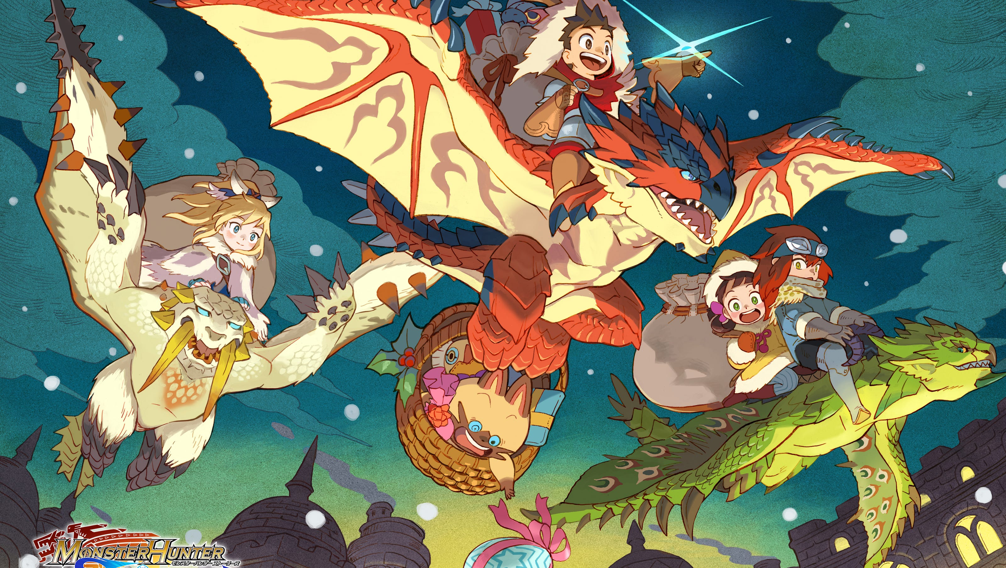 Ride On Time Monster Hunter Stories Review Technobubble