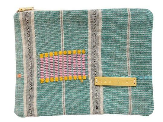 Vintage Baule Zipper Pouch from Meridian