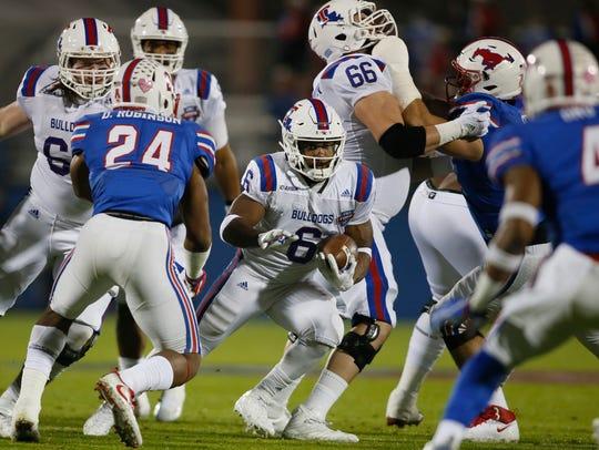 Louisiana Tech Bulldogs running back Boston Scott (6)