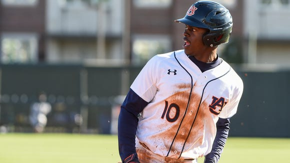 Anfernee Grier is batting .434 with seven home runs