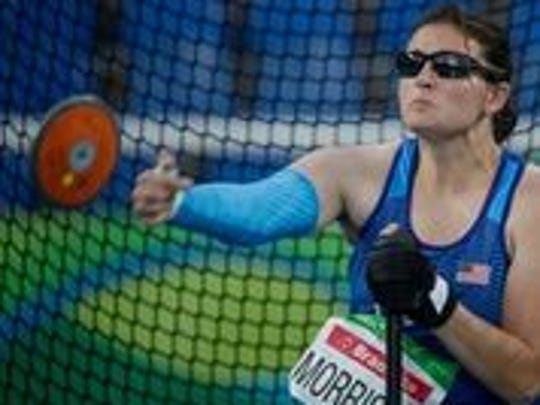 Rachael Morrison is the Paralympic and World champion