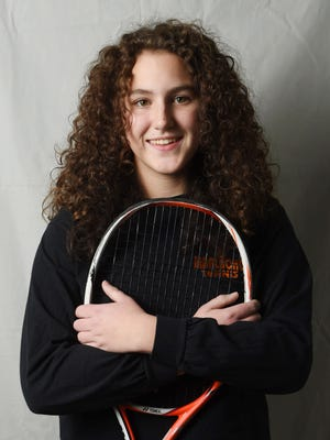 Marlboro High School's Emma Messenger was named the Girls Tennis Player of the Year.