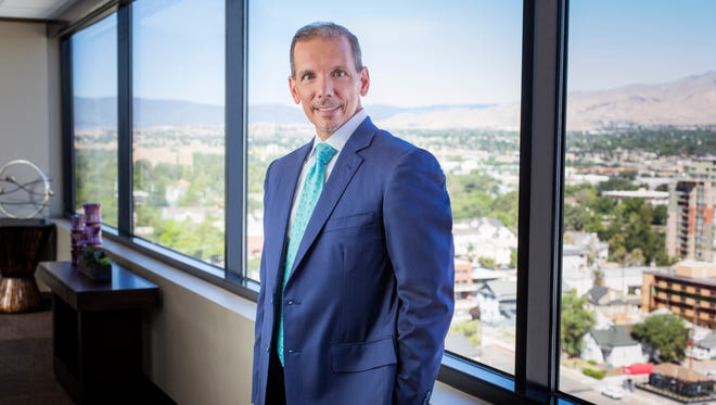 Renown Health's President and Chief Executive Officer, Dr. Anthony