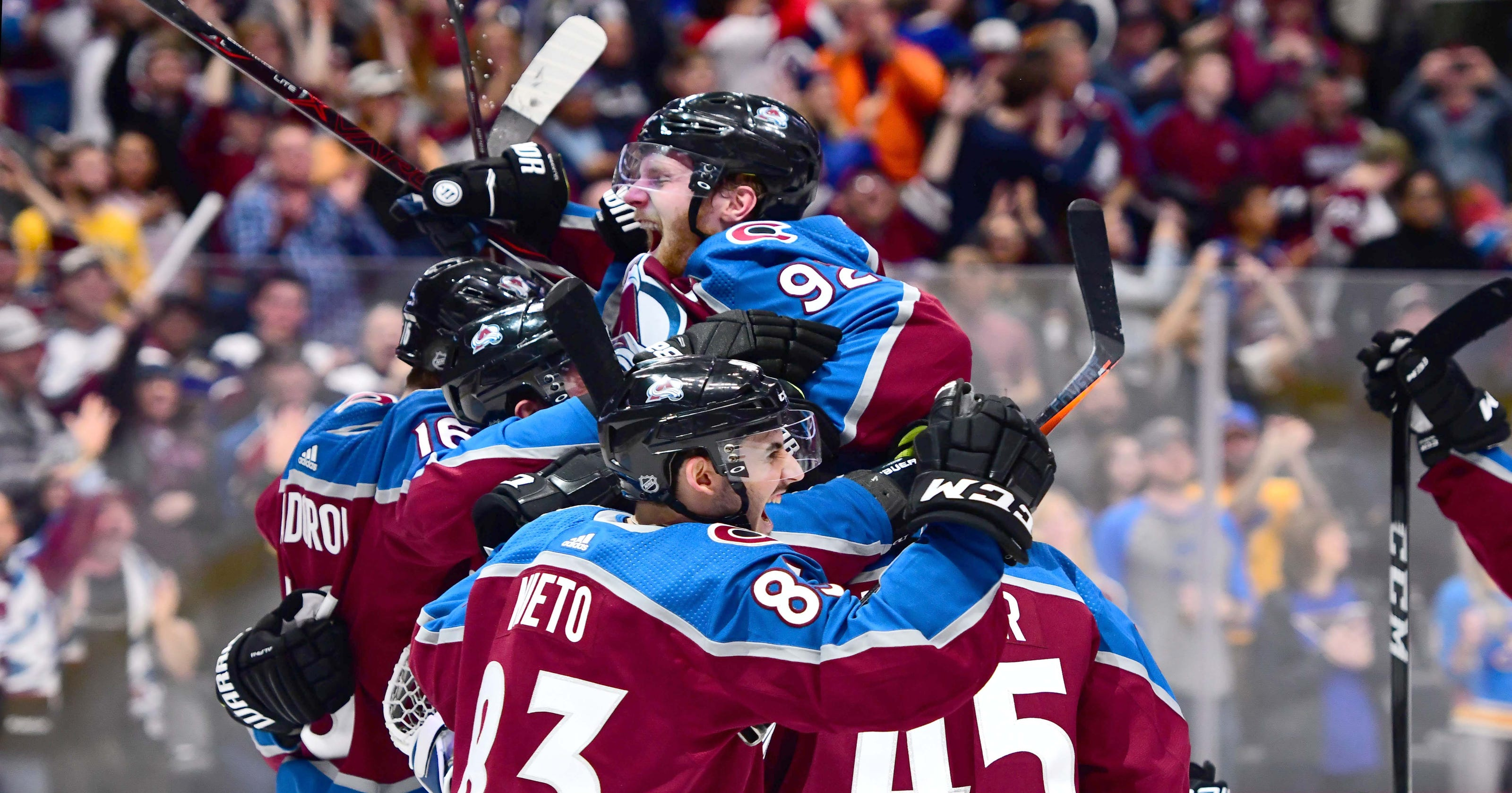 c93b8379350 Avalanche go from worst to playoffs by beating Blues
