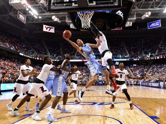 NCAA Basketball: ACC Conference Tournament-Louisville vs North Carolina