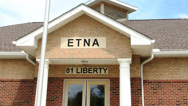 The Etna Township Administration Building.