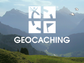 The Geocaching app can be downloaded on a smart phone.