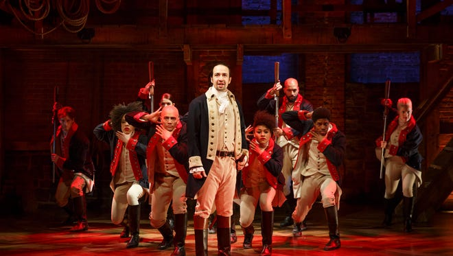 Lin-Manuel Miranda and the 'Hamilton' cast perform.