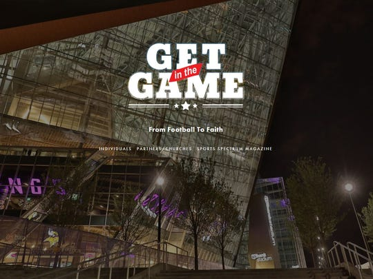 """Christian website, getinthegame.net, provided the ABCs of hosting parties and prayer to link faith and football. """"Don't be caught sitting on the bench,'' it implores."""