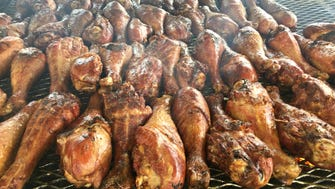 Gold Concessions staff reported selling nearly 1,000 smoked turkey legs between Friday night and Sunday morning before the 2017 Indianapolis 500 started.
