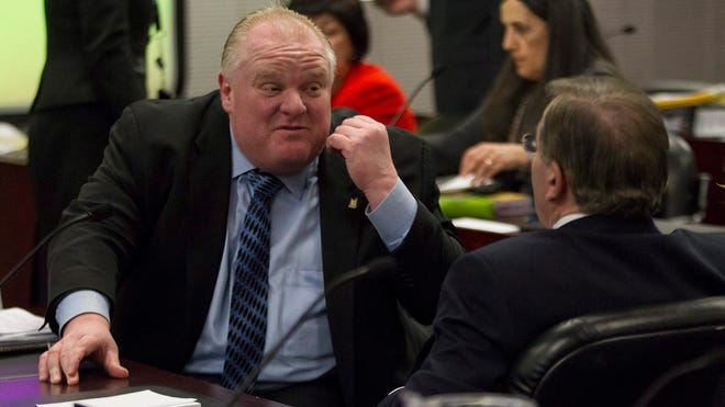 "Toronto Mayor Rob Ford said Wednesday he had a ""minor setback"" this week when he was caught on video slurring his words and said his private life is not affecting his work."