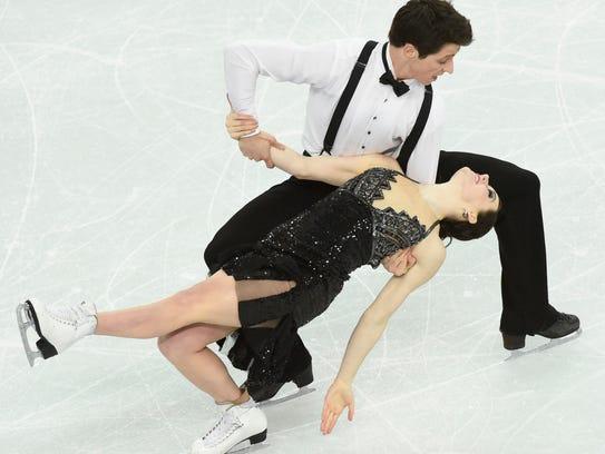 USP Olympics_ Figure Skating-Ice Dance Short Dance