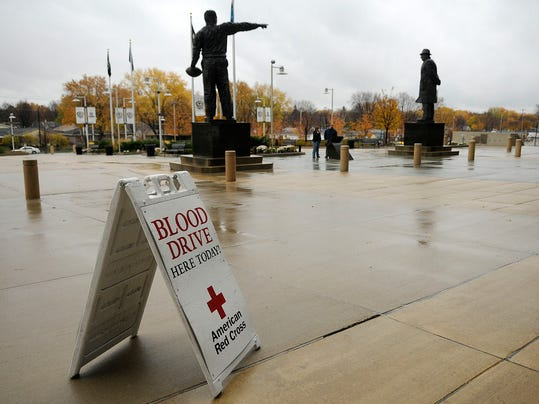Packers Blood Drive