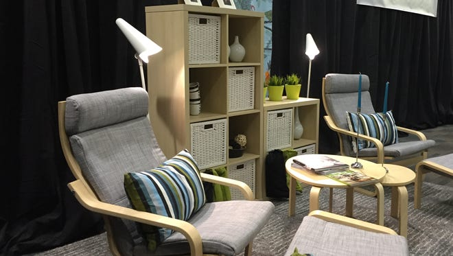 This example of Ikea furniture was on display at a news conference Tuesday announcing that the Swedish company was going to build a store in Fishers.