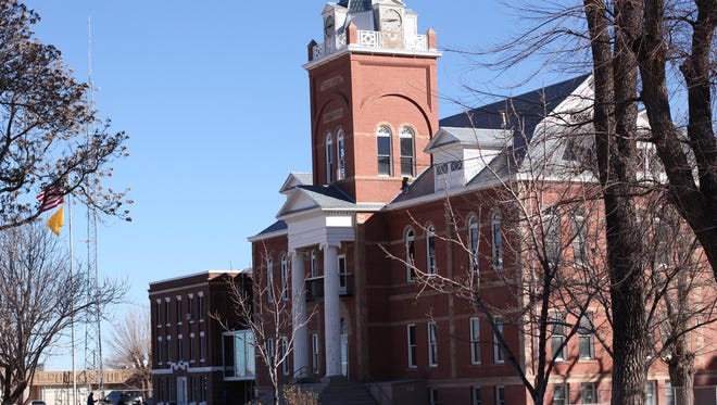 Luna County's Board of Commissioners will conduct a special meeting at 9 a.m. on Wednesday, March 29, in the commission chambers of the Luna County Courthouse, 700 S. Silver St. in Deming. The board intends to adopt an ordinance authorizing the issuance and sale of the Luna County, New Mexico Correctional Facility gross receipts tax refunding revenue bonds in an aggregate principal amount not to exceed $4,000,000 for the purpose of defraying the cost of refunding, paying or discharging the outstanding facility's GRT revenue bonds.