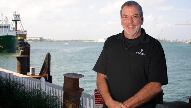 Is one of the owners of Fishlips Waterfront Bar and Grill at Port Canaveral.