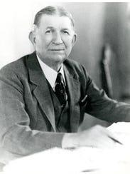 Florida Governor Fred Cone