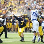 3 Michigan questions: Don't expect Harbaugh to bench Speight this week