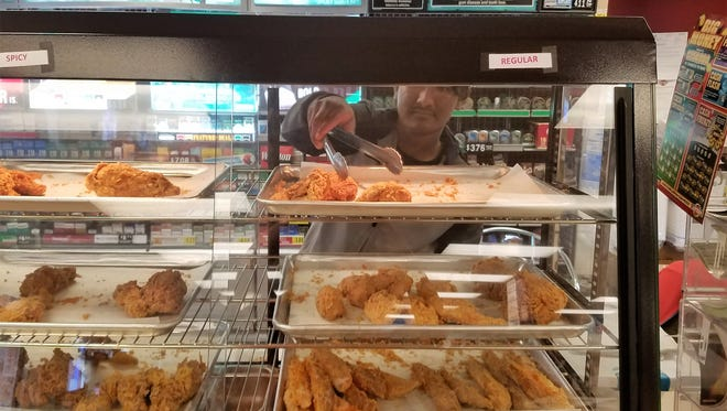 Newburgh residents have a brand new gas station chicken option at the Phillips 66 Xpress Pantry at State Street and Rose Hill Road.