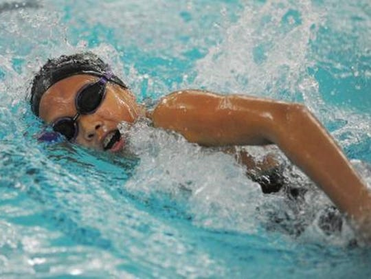 The breaststroke will be one of the Thunderbirds' best