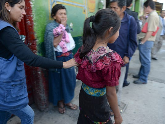 GUATEMALA-HUMAN TRAFFICKING-OPERATION