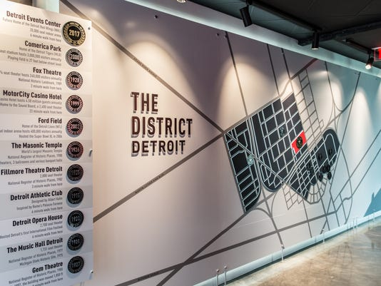 Preview Center district map