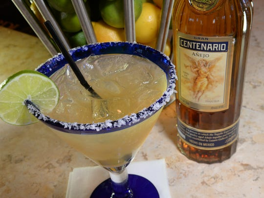 It's all about the tequila with Cantina Laredo's El Millionaire Margarita. The drink is only made with Gran Centenario Reposado Tequila.