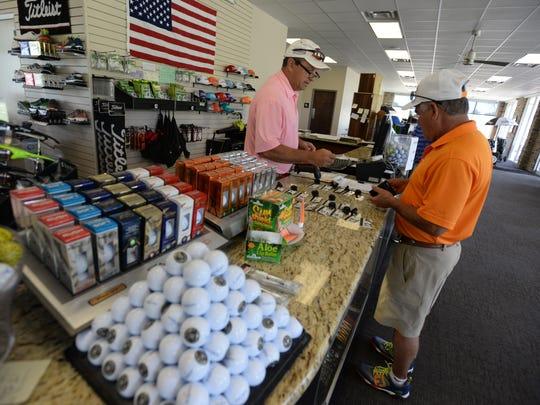 Reg Adams, Director of Golf at Huntington Golf Course,