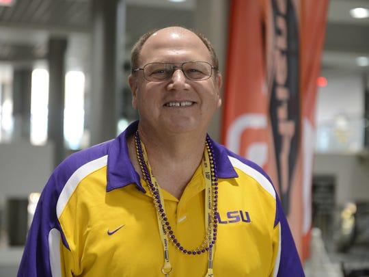 Louisiana State University Alumni Association member Gordon Monk.