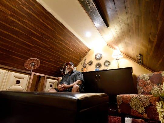Eddie Noble transformed this loft at the peak of his