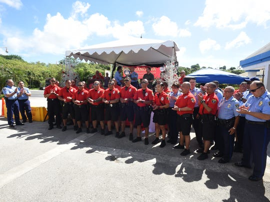 The Guam Police Department holds a Mandaña community
