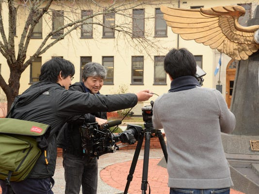 Japanese Broadcasting crew travel to Maxwell for documentary
