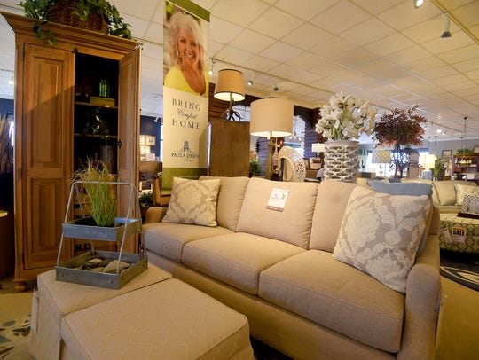 The McCready Interiors/Norwalk Furniture showroom is
