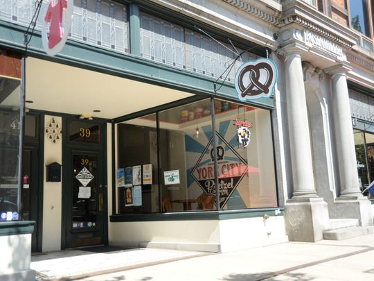 On Wednesday, March 18 York City Pretzel Company, located at 39 W. Market St., announced it would temporarily close due to coronavirus concerns.