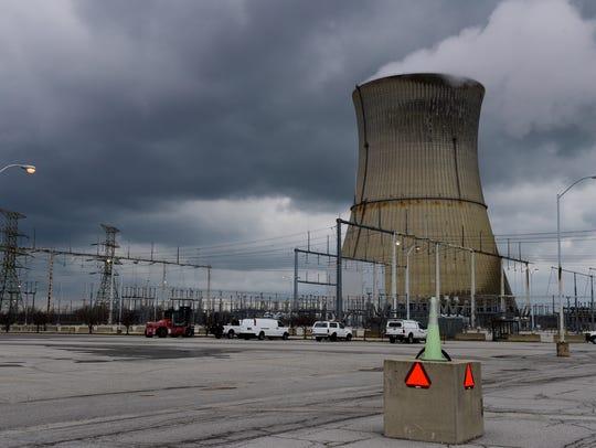 Davis–Besse Nuclear Power Station employs around 700