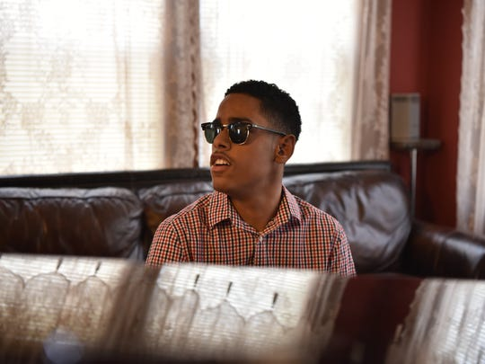 """""""I don't let my blindness stop me,"""" Whitaker says. """"I want to be a professional musician. I want to have more albums out."""""""