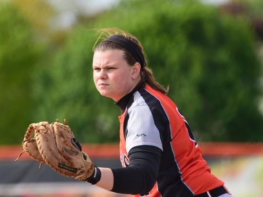 Gibsonburg's Abby Cantrell will not be easy to replace.