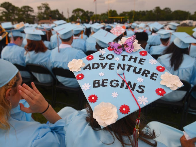 The Rockledge High School graduation ceremony was held