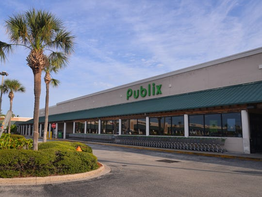 The Publix in the Banana River Square shopping center