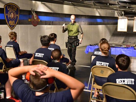 Junior police academy Clifton