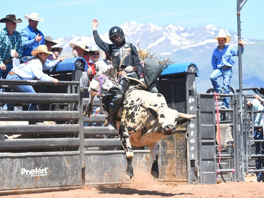 Milford's Stetson Wright won the 2017 all-around cowboy honors at the National High School Finals Rodeo to lead Utah to a fourth-place finish.
