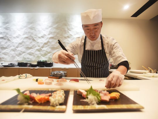 Shumi is known for its omakase, which in Japanese is