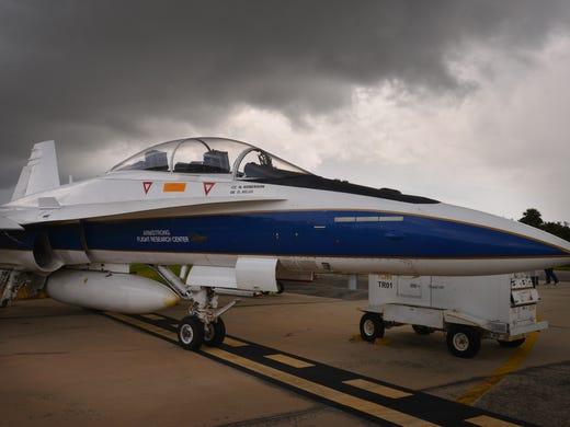 NASA F-18 sonic boom flights underway over Space Coast