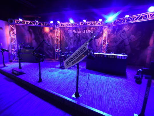 Photo of Roland Live stage at Grammy Museum Experience