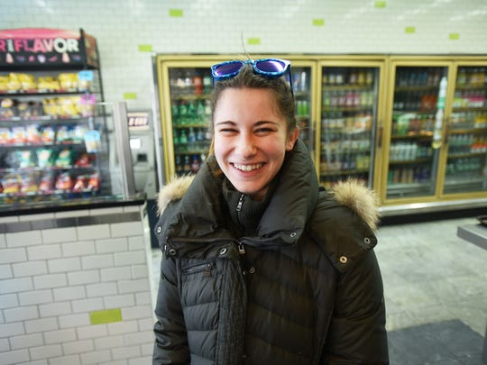 Christine Rubino, 21, of Fort Lee, hopes to become healthier mentally and physically in 2018 and help others do the same.
