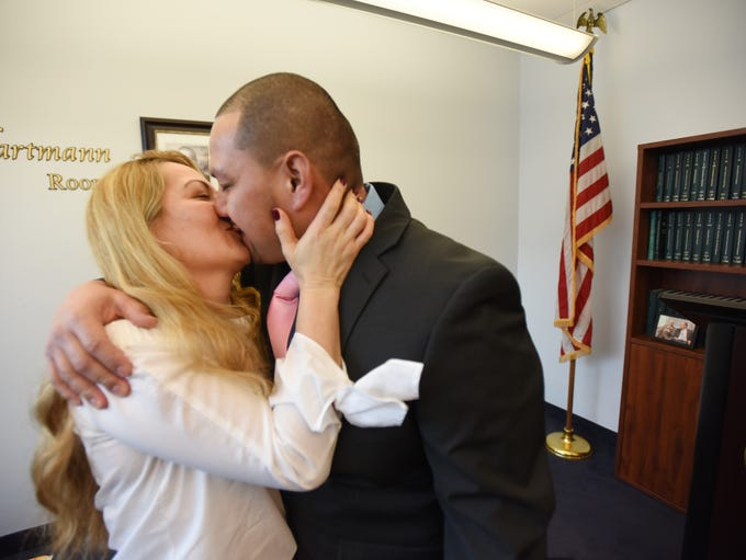 Victor Sosa (age 37) and Brenda Aguilar (age 38) of